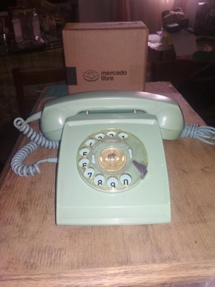 Teléfono De Disco Antigüo