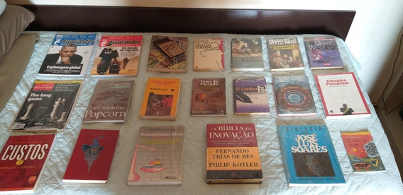 Lote Livros E Revistas