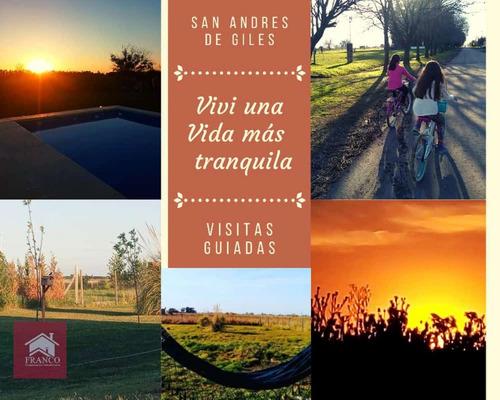 Lotes San Andres De Giles Km 93. Oportunidad!!!