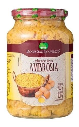 Ambrosia 700g Doces São Lourenço