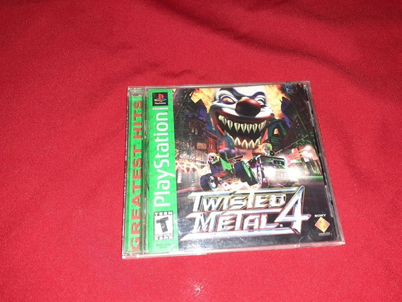 Twisted Metal 4 Ps1 - Playstation 1 Completo Original
