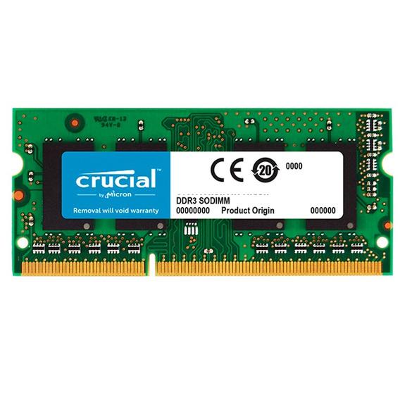 Memoria Sodimm 4gb Crucial Ddr3 1600mhz Notebook Xellers 2