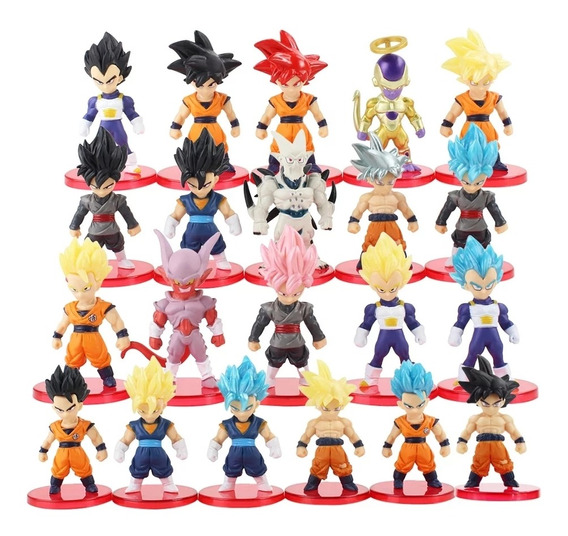 Set De Figuras Dragón Ball Z Gt Super Anime Dibujos Animados