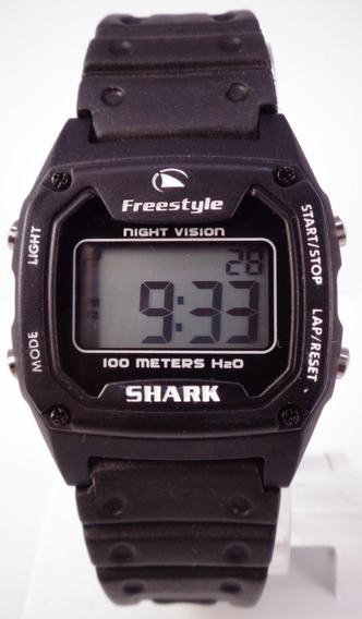 Relógio Freestyle Fs80969 Digital Shark Classic Black 100m