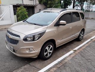 Gm Chevrolet Spin Ltz 1.8 Automática 2014 7 Lugares Docs Ok