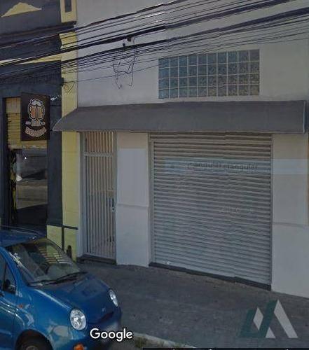Salão Para Alugar, 240 M² Por R$ 3.100,00/mês - Jardim Santa Rosália - Sorocaba/sp - Sl0057