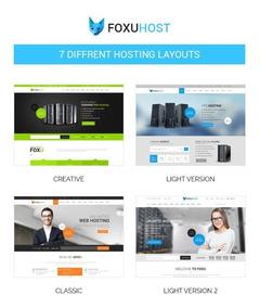 Tema Wordpress Foxunhost Para Site De Hospedagem