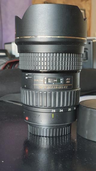 Lente Tokina 16-28 Mm F 2.8 Canon Ef Af