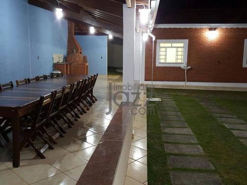 Chácara À Venda, 1600 M² Por R$ 850.000,00 - Parque Nova Xampirra - Itatiba/sp - Ch0207