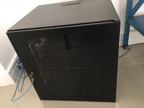 Rack Servidor Fechado 12u C/ Switch Intelbras Sf2400qr 24p +
