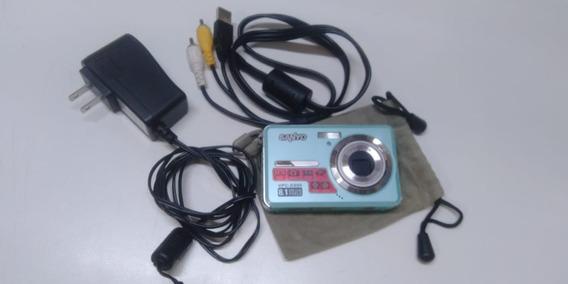 Câmera Digital Foto Sanyo Vpc-e890 8.1 Mega Pixels Completa