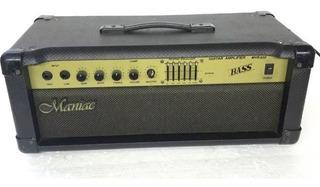Cabeçote Maniac Mvb800 Bass 100w P/ Contrabaixo Fotos Reais!