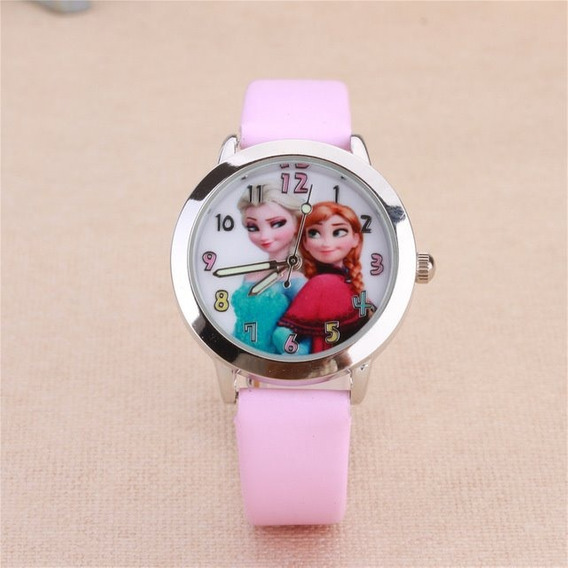 Relógio Frozen Princesa Anna Promoção