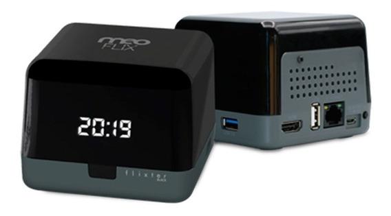 Flixter Black 4k Antena Wifi Embutida - Pronta Entrega