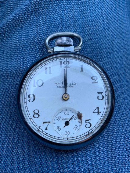 Reloj De Bolsillo Antiguo Funcionando Perfectamente