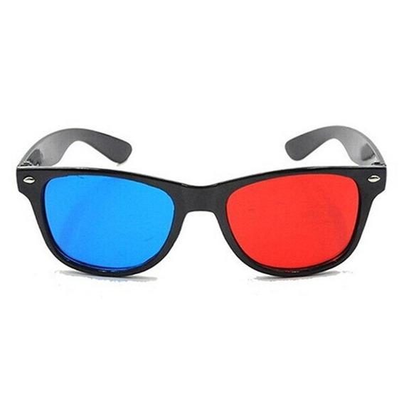 Azul E Vermelho 3d Óculos Ciano Anaglyph Estilo Simples Extr