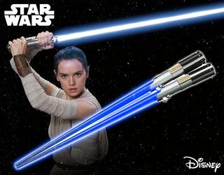Palitos Sushi Star Wars Rey