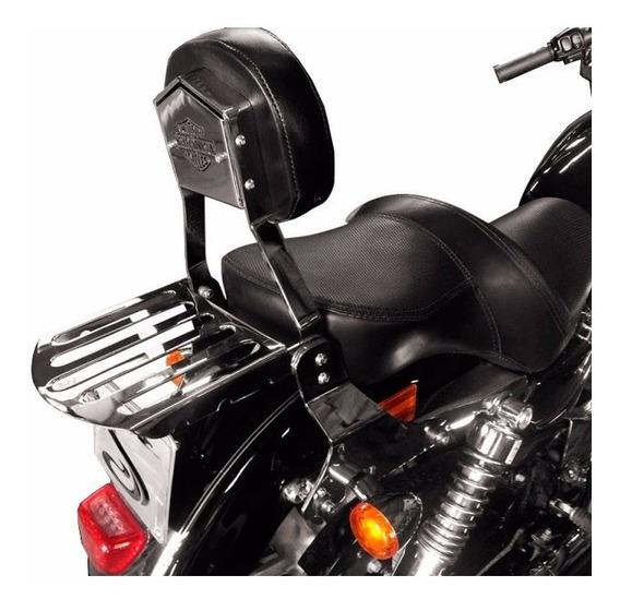 Sissy Bar Destacavel Sportster 883 1200 Escape Cobra Cromado