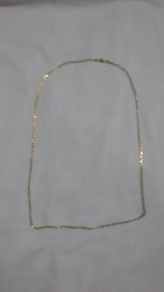 Cordão Cartie Banhado A Ouro 18k Banho Duplo De Ouro Barato