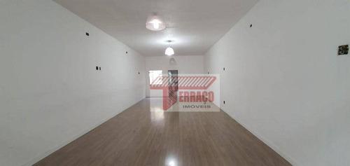 Imagem 1 de 7 de Sala Para Alugar, 246 M² Por R$ 2.500,00/mês - Vila Pires - Santo André/sp - Sa0063
