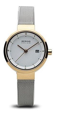 Bering 14426-010 - Reloj Analógico Con Correa De Acero Inoxi