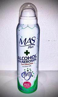 Alcohol En Aerosol ( Pack De Tres Aerosoles)