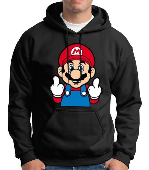Sudadera Mario Bros Fuck You
