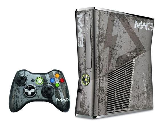 Console Xbox 360 Slim 4gb Edição Cod Modern Warfare 3
