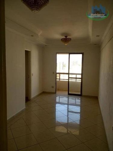 Apartamento À Venda, 69 M² Por R$ 320.000,00 - Vila Pedro Moreira - Guarulhos/sp - Ap0829