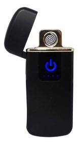 Isqueiro Usb Eletrônico Plasma Lighter Tb-0722 Preto