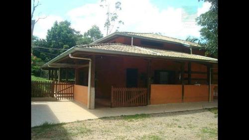 Chácara Para Locação Em Itapecerica Da Serra, Potuverá, 3 Dormitórios, 1 Suíte, 2 Banheiros, 6 Vagas - 415_2-806606