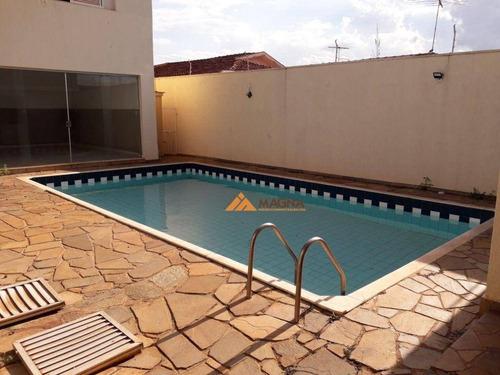 Sobrado Com 4 Dormitórios, 550 M² - Venda Por R$ 1.180.000,00 Ou Aluguel Por R$ 5.000,00/mês - Alto Da Boa Vista - Ribeirão Preto/sp - So0028