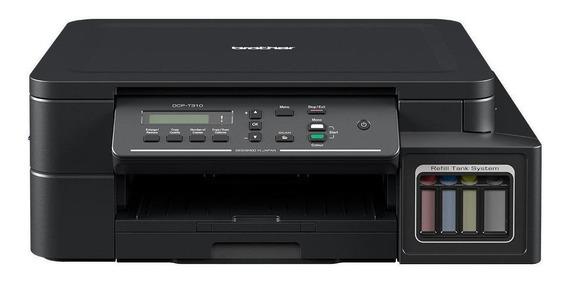Impresora a color multifunción Brother DCP-T3 Series DCP-T310 220V negra
