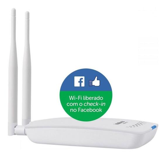 Roteador Hotspot 300 Intelbras Wifi C Check-in Facebook