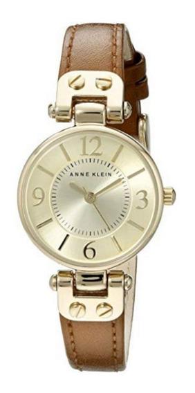 Reloj De Pulsera Para Mujer (correa De Piel) Anne Klein