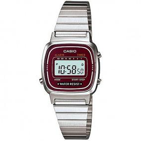 Relógio Casio Vintage Prata Ref: 5.655