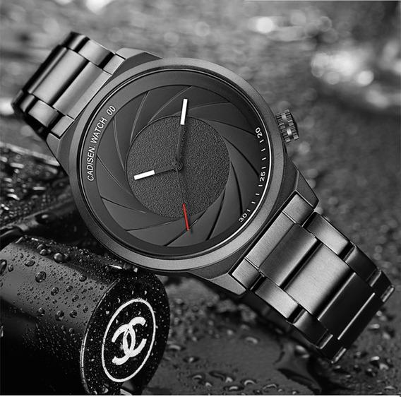 Marca De Luxo Mulheres Homens Unisex Moda Casual Relógios