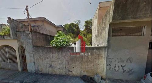 Imagem 1 de 8 de Terreno À Venda, 340 M² Por R$ 315.000,90 - Pirituba - São Paulo/sp - Te0047