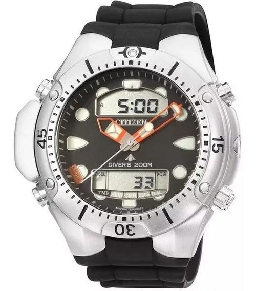 Relógio Citizen Masculino Aqualand Ii Poliuretano Jp1060-01e