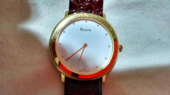 Relógio Bulova Social Suiço 97a30