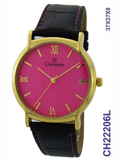 Relógio Champion Feminino Ch22206l Nota Fiscal