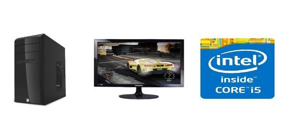 Computador Desktop Intel Core I5 4gb Hd 500gb