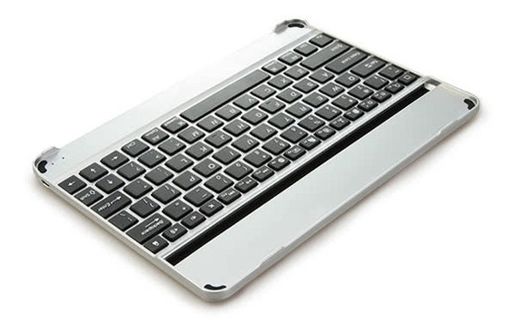 Alumínio Bluetooth Sem Fio Teclado Dock Caso Suporte Para Ap