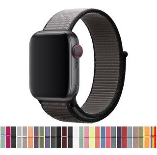 Pulseira Apple Watch Nylon Loop Esportiva 38m 40mm 42mm 44mm