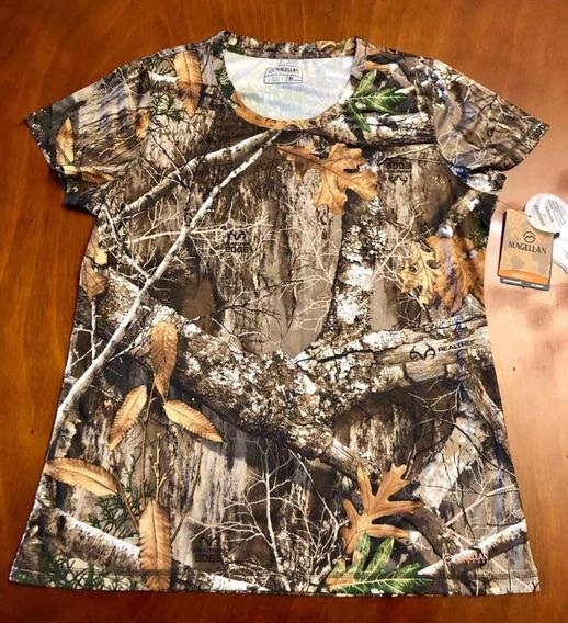 Camiseta Para Mujer Bosque Cacería - Magellan - Talla Xl