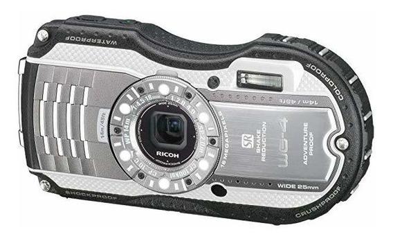 Ricoh Wg-4 Silver 16digital Camaras Con 4x Optical Image S ?