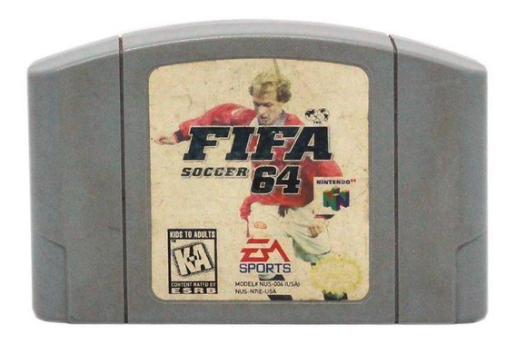 Fifa Soccer 64 N64 Mídia Física Pronta Entrega