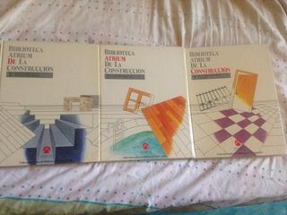 Biblioteca Atrium De La Construccion.tomos 2,3 Y 5