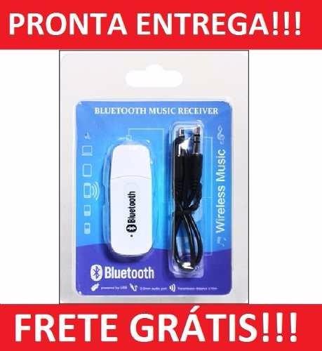 Bluetooth Usb Sem Fio Wireless Music De 55,99 Por 45,99 Fg