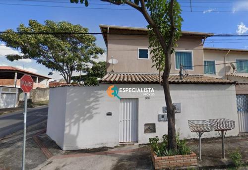 Casa Com 2 Quartos À Venda, 94 M² Por R$ 300.000 - Etelvina Carneiro - Belo Horizonte Minas Gerais - Ca0294